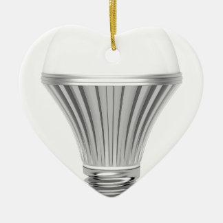 Ornamento De Cerâmica Bulbo do diodo emissor de luz