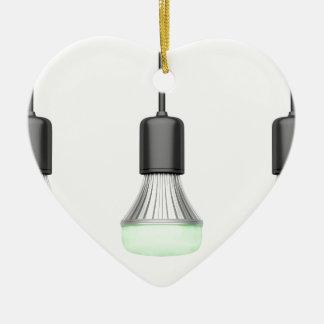 Ornamento De Cerâmica Bulbos do diodo emissor de luz com cores