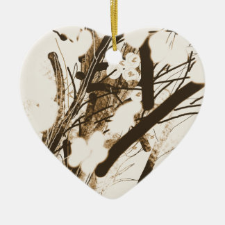 Ornamento De Cerâmica bulrushes