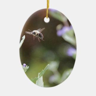 Ornamento De Cerâmica Bumble a abelha