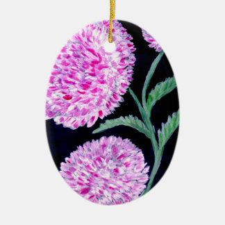 Ornamento De Cerâmica Buquê da arte das flores