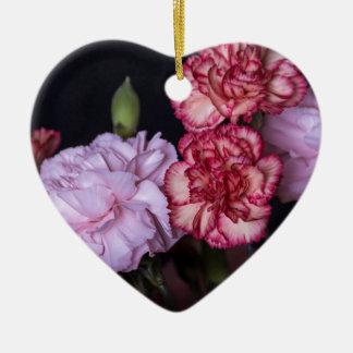 Ornamento De Cerâmica Buquê da flor