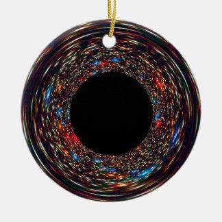 Ornamento De Cerâmica Buraco negro Supermassive