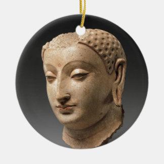 Ornamento De Cerâmica Cabeça de Buddha - 5o-6o século