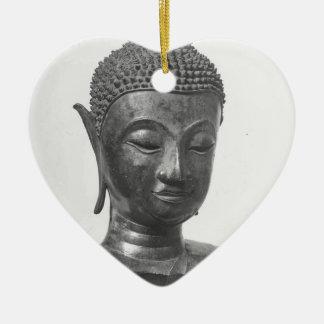 Ornamento De Cerâmica Cabeça de Buddha - século XV - Tailândia
