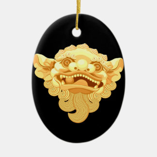 Ornamento De Cerâmica cabeça de cão 9.1.2