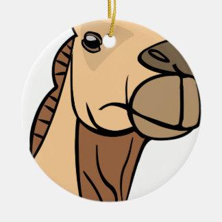 Ornamento De Cerâmica Cabeça do camelo