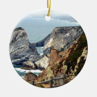 Ornamento De Cerâmica Cabo a Dinamarca Roca, Portugal
