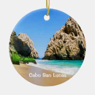 Ornamento De Cerâmica Cabo San Lucas