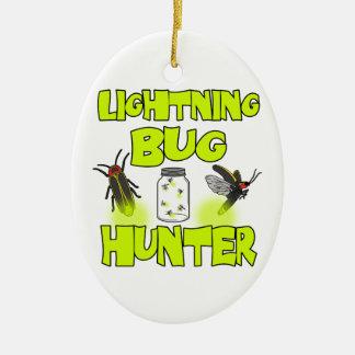 Ornamento De Cerâmica caçador do inseto de relâmpago