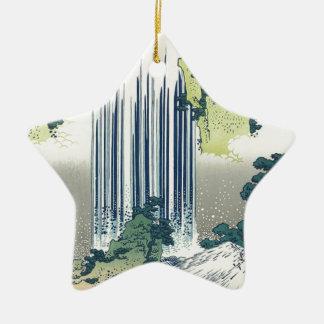 Ornamento De Cerâmica Cachoeira azul