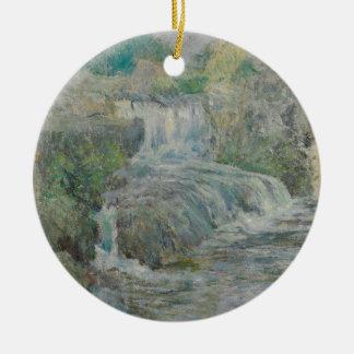 Ornamento De Cerâmica Cachoeira - John Henry Twachtman