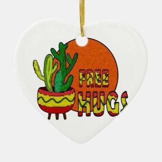 Ornamento De Cerâmica Cacto - abraços livres