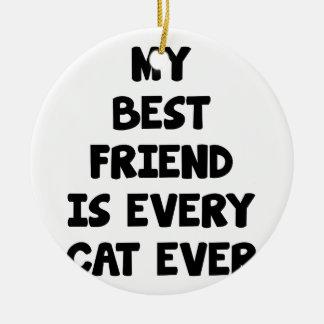 Ornamento De Cerâmica Cada gato nunca