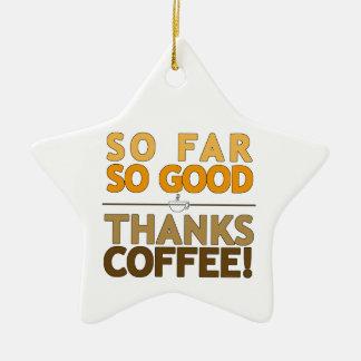 Ornamento De Cerâmica Café dos obrigados