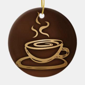 Ornamento De Cerâmica Café em meu copo