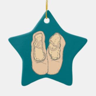 Ornamento De Cerâmica Calçados de balé