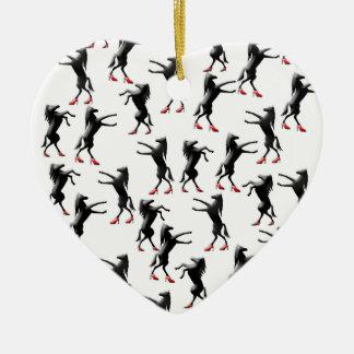 Ornamento De Cerâmica calçados do cavalo