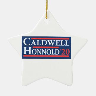 Ornamento De Cerâmica Caldwell Honnold 2020