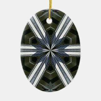 Ornamento De Cerâmica caleidoscópio abstrato