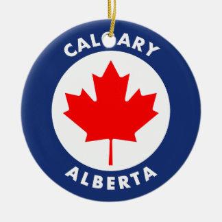 Ornamento De Cerâmica Calgary, Alberta