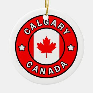 Ornamento De Cerâmica Calgary Canadá