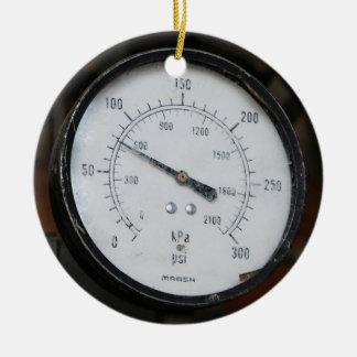Ornamento De Cerâmica Calibre de pressão