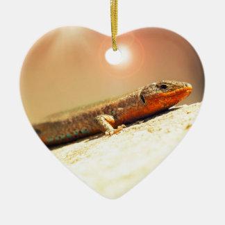 Ornamento De Cerâmica Calor de Lizart