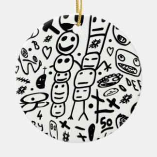Ornamento De Cerâmica Camarão de Zef