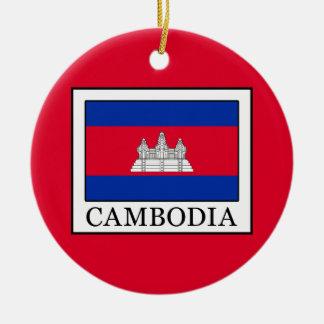 Ornamento De Cerâmica Cambodia