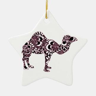 Ornamento De Cerâmica Camelo 2
