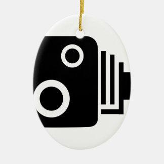 Ornamento De Cerâmica Câmera isolada da velocidade