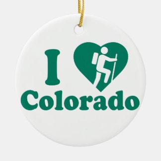 Ornamento De Cerâmica Caminhada Colorado