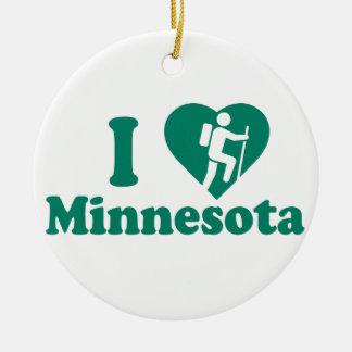 Ornamento De Cerâmica Caminhada Minnesota