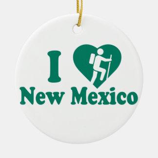Ornamento De Cerâmica Caminhada New mexico