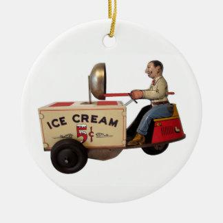 Ornamento De Cerâmica Caminhão do sorvete