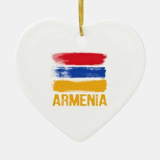 Ornamento De Cerâmica Camisas da bandeira de Arménia