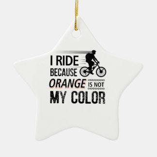 Ornamento De Cerâmica Camisetas engraçadas do ciclismo