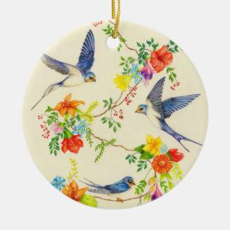 Ornamento De Cerâmica Campainha Roundalay