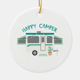 Ornamento De Cerâmica Campista feliz