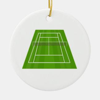 Ornamento De Cerâmica Campo de ténis