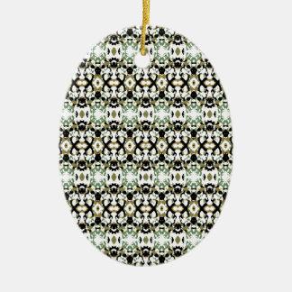Ornamento De Cerâmica Camuflagem étnica abstrata