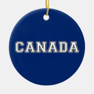 Ornamento De Cerâmica Canadá