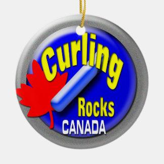 Ornamento De Cerâmica Canadá de ondulação
