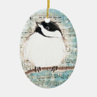 Ornamento De Cerâmica Canção da música do passarinho