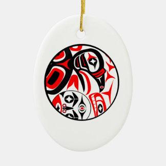 Ornamento De Cerâmica Canção do corvo