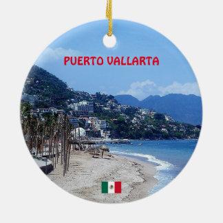 Ornamento De Cerâmica Caneca de café de Puerto Vallarta