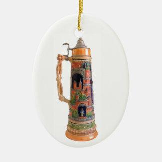 Ornamento De Cerâmica Caneca de cerveja do alemão do vintage