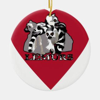 Ornamento De Cerâmica Caneca do Lemur