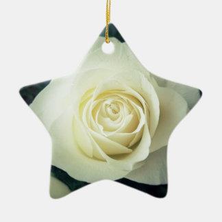 Ornamento De Cerâmica Caneca do rosa branco